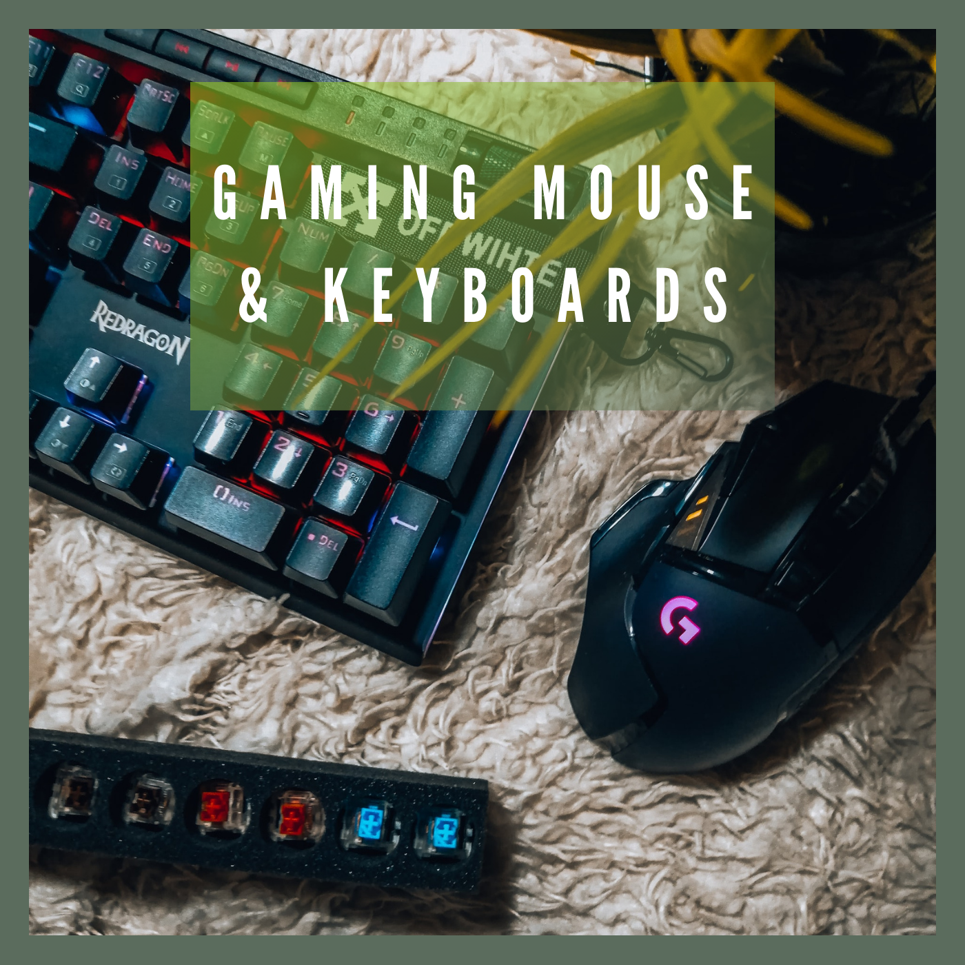 Gaming Mouse & Keyboards